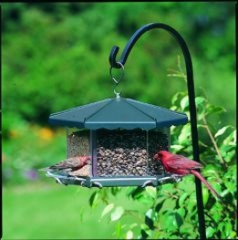 Faction Bird Feeder - Gray