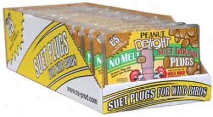 Peanut Delight Suet Dough Plug - 12 Ounce