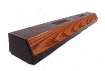 Perfect-a-strip Fluorescent Hood - Oak - 30 Inch