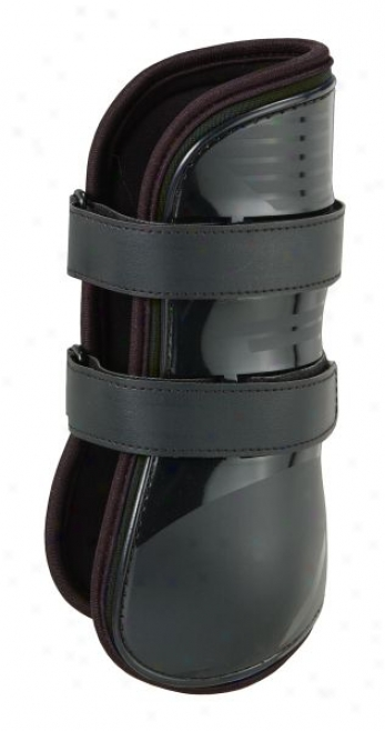 Performers 1st Choice Open-front Tendon Boot - Black - Medium