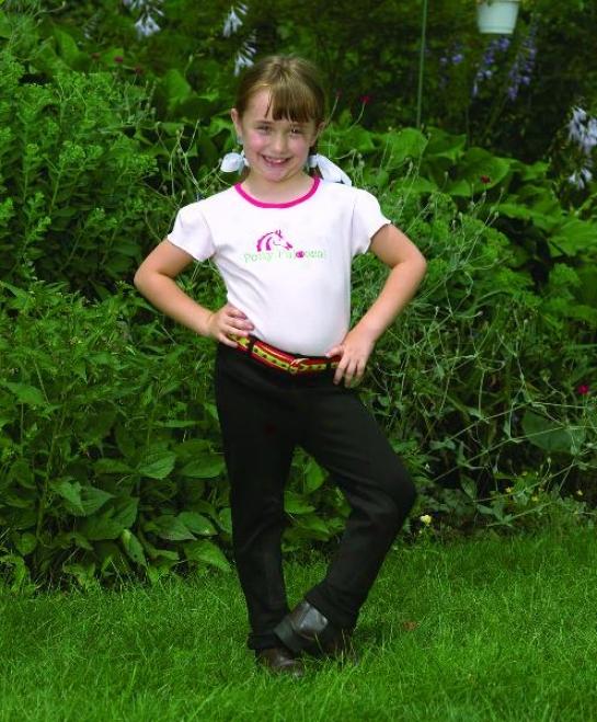 Perri's Children's Pull-on Knee Patc Jodphur