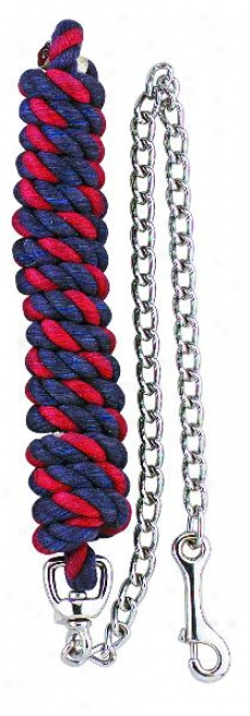 Perri's Multi Colored Lead With  Chain - Multi - 6'