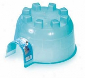 Pet Igloo - Hideout In the place of Hamsters/gerbils/pet Rats - Blue