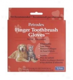 Petrodex Finger Toothbrush Glove For Puppies/kittens