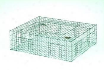 Pigeon Bird Trap - Black - 28x24x8