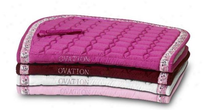 Pink Camo A/p Saddle Cushion