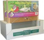 Platform Feeder For Birds - Brown