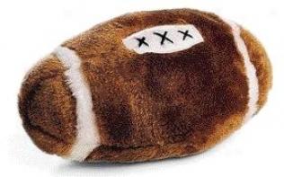 Plush Football Dog Play - Assorted