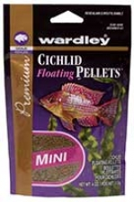 Pm Cichlid Floating Pellets Fish Food - 3 Oz