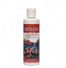 Pond Care Cnlorine Heavy Metal Neutralizer - 8 Oz