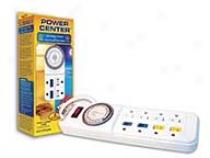 Power Center - White