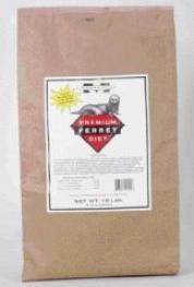 Premium Ferret Diet - 18 Pounds/bulk