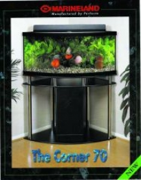 Prestige Aquarium Canopy - Black - 70 Gallon