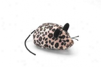 Pull N Go Mouse Toy For Ferrets - Multicolor