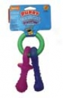 Puppy Teething Pacifier - Multi Colored - Xsmall