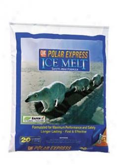 Qj Polar Express Ice Melt - 20 Pounds