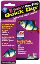Quick Dip 6-in-1 Strip Aquarium Multi-test Kit - 25 Strips