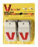Quickset Mouse Trap - 2 Pack
