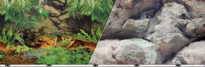 Rain Fresh Aquarium Background - 12 X 50