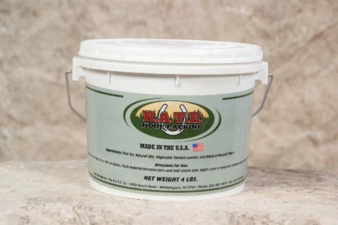 R.a.t.e. Hoof Packin g- Original - 4-lb Bucket
