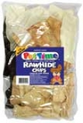 Rawhide Chips Assortment Trears For Dogs - Multicolor