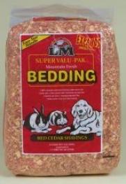 Red Cedar Shavings For Petty Animal Bedding - 1.75oz