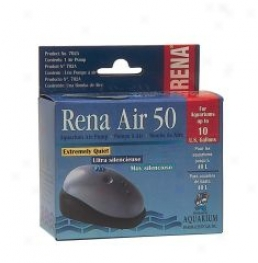 Rena Aquarium Air Pump Provides Optimum Airflow - 10 Gallon Tanks