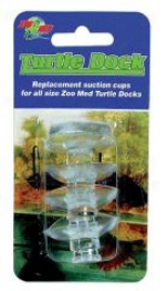 Replacement Suction Cups For Turtle Dock - Clear