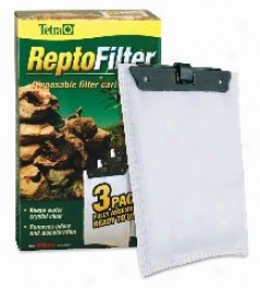 Reptofilter Replacement Cartridge For Reptofiter Power Filter - White