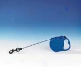Retractable Cord Leash - Blue - Mini