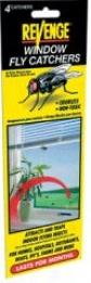 Revenge Fly Catcher Window - 4 Pack