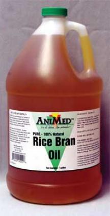 Rice Bran Oil Supplement - Gallon