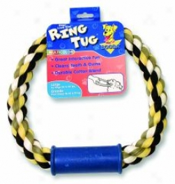 Ring Tug Dog Toy - Multicolor - Large