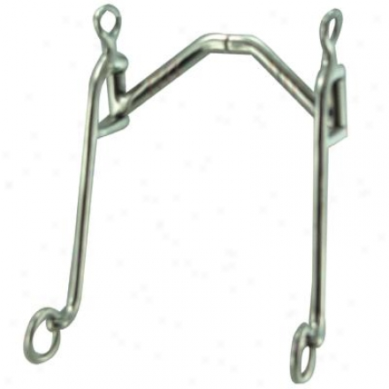 Robart Robart Pinchless Arched Port Walking Steed Bit - 5