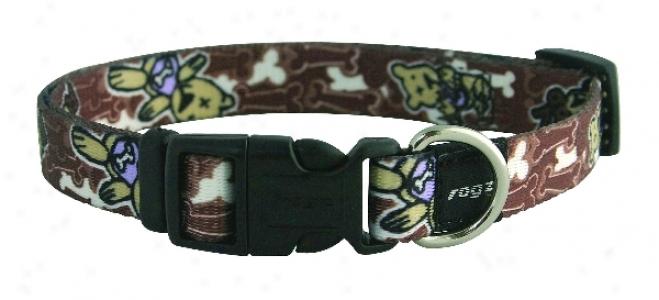 Rogz Pupz Yip Yap Sr Collar - Caramel - 3/8