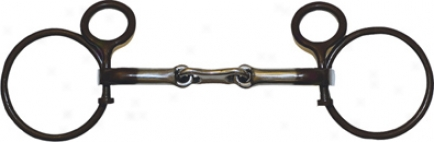Roping Collection By Metalab Antique Schooling Snaffle Bit - Antique - 5 1/8
