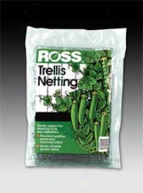 Ross Trellis Netting - Black - 6 X 12 Feet