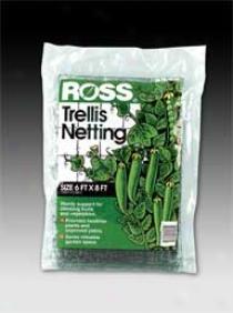Ross Trellis Netting - Black - 6 X 8 Fete