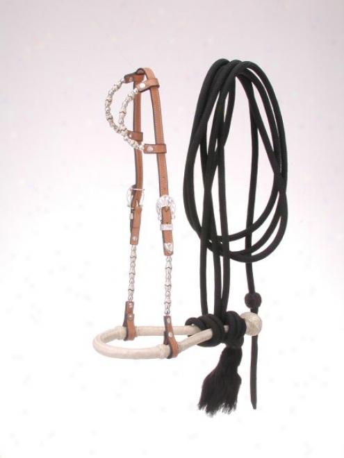 Rlyal King Double Ear Bosal/mecate Set