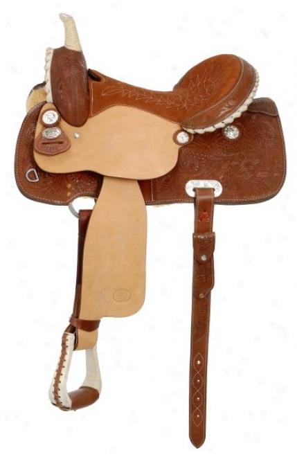 Royal King Lightening Barrel Saddle