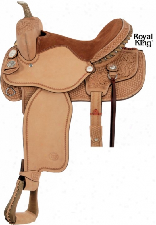 Royal King Premium Barrel Saddle