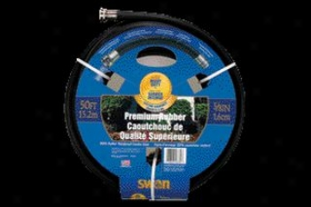 Rubber Garden Hose - 50 Ft