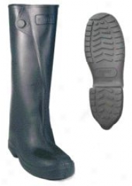 Rubber Over-the-shoe Knee Boot