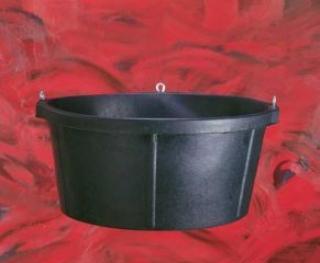 Rubber Tub Cr750 - Black - 6.5 Gallon
