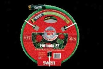 Rubber Vinyl Garden Hose - 50 Ft