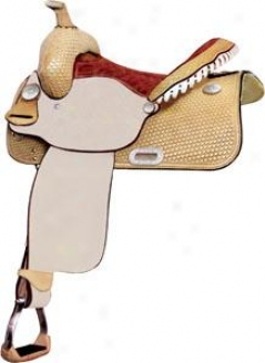 Saddlesmith Of Texas Connue Combs Barrel Racer Load - Rich Essential Gold - 15