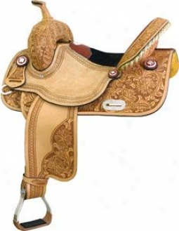 Saddlesmith Of eTxas Connie Combs Gator Half-breed Racer Saddle