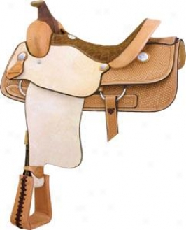 Saddlesmith Of Texas Cowtown Roper Sadddle - Pecan - 15.5