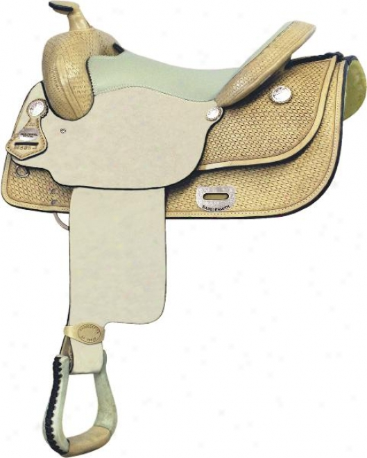 Saddlesmith Of Texas Dick Piwper Reiner - Rich Pecan - 16