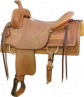 Saddlesmith Of Texas Guthrie Ranch Cutter Saddle